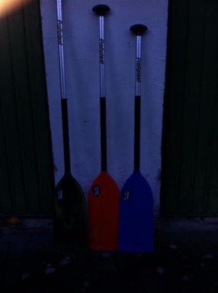 Kanu Kajak Kanadier Paddel gebraucht 15