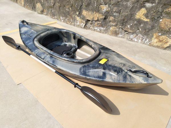 1ner Freizeit Kayak LSF-31 marmorisierte Farben 1