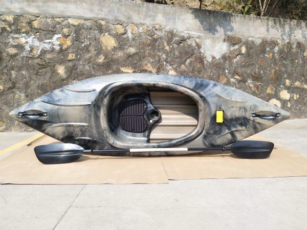 1ner Freizeit Kayak LSF-31 marmorisierte Farben 3