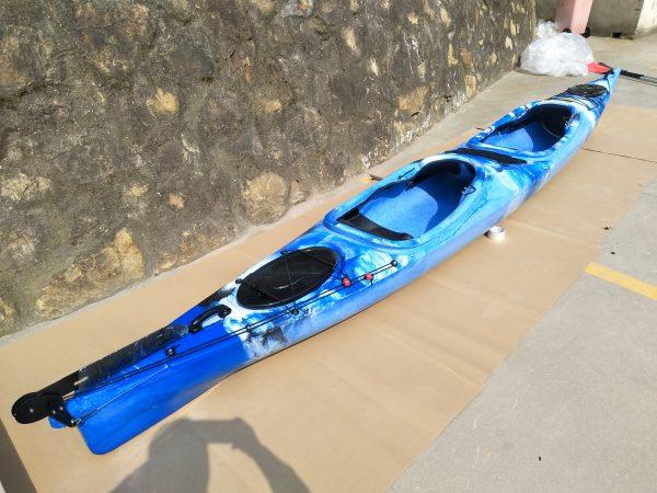 2er Tourenkajak Shark LSF-35 blau 4