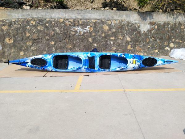 2er Tourenkajak Shark LSF-35 blau 3
