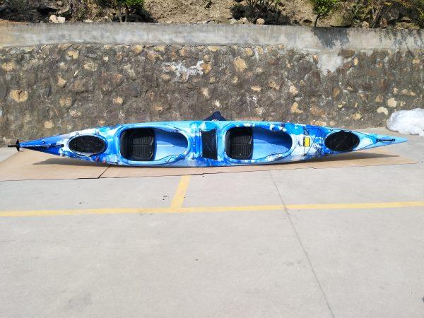 2er Tourenkajak Shark LSF-35 blau 2